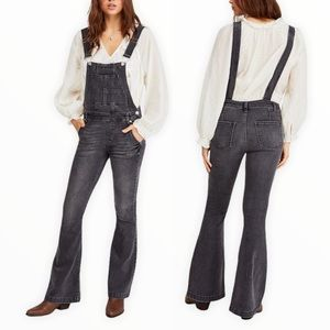 Free People Carly Flared Women's Overalls